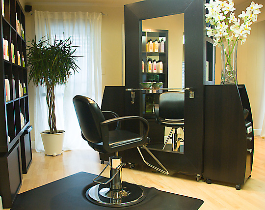 natural, organic hair care at Terra Bella Salon