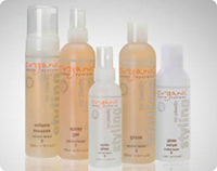 Organic Control Systems products at Terra Bella Salon